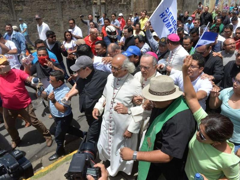 12 SL 2 Despues agresion lograron basilica Managua LPRIMA20180710 0001 34