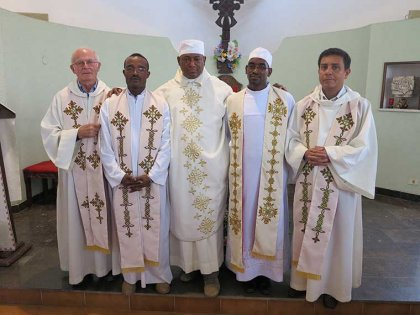 Farewell to Fr Gabriel and Fr Kidane