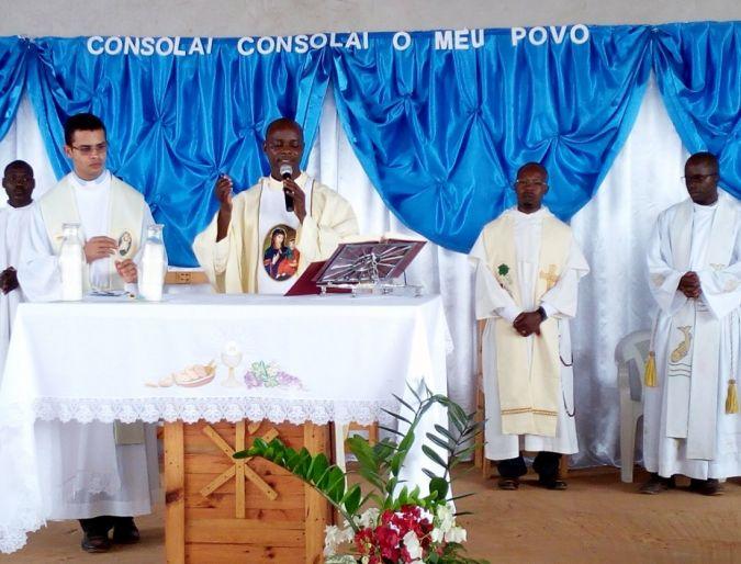 Angola: Festa de Nossa Senhora da Consolata na Missão de Funda