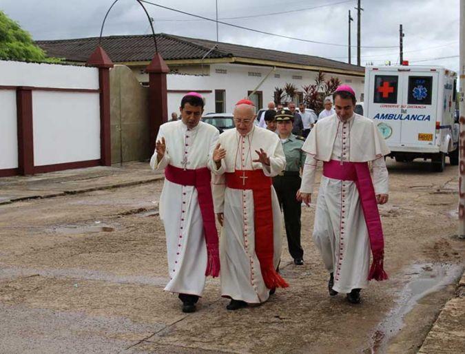 Cardenal Fernando Filoni Visita La Amazonía Colombiana