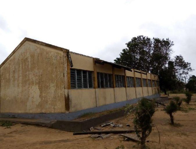 Moçambique: Centro Catequético de Guiúa-Inhambane afectado pelo ciclone tropical