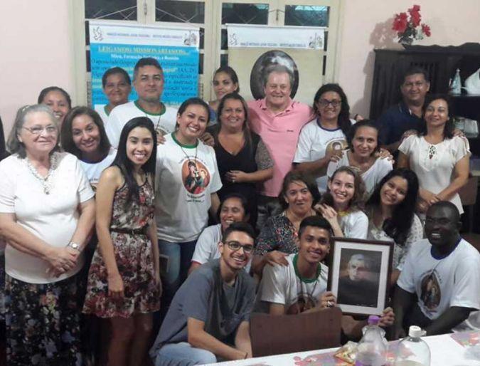 Apostolado Leigo Missionário Da Consolata (Amazônia) Encontra Um Pai Na Pessoa Do Superior Geral