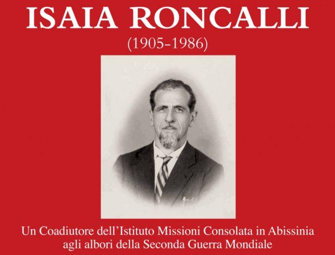 Nuovo libro su Fr.Isaia Roncalli, imc
