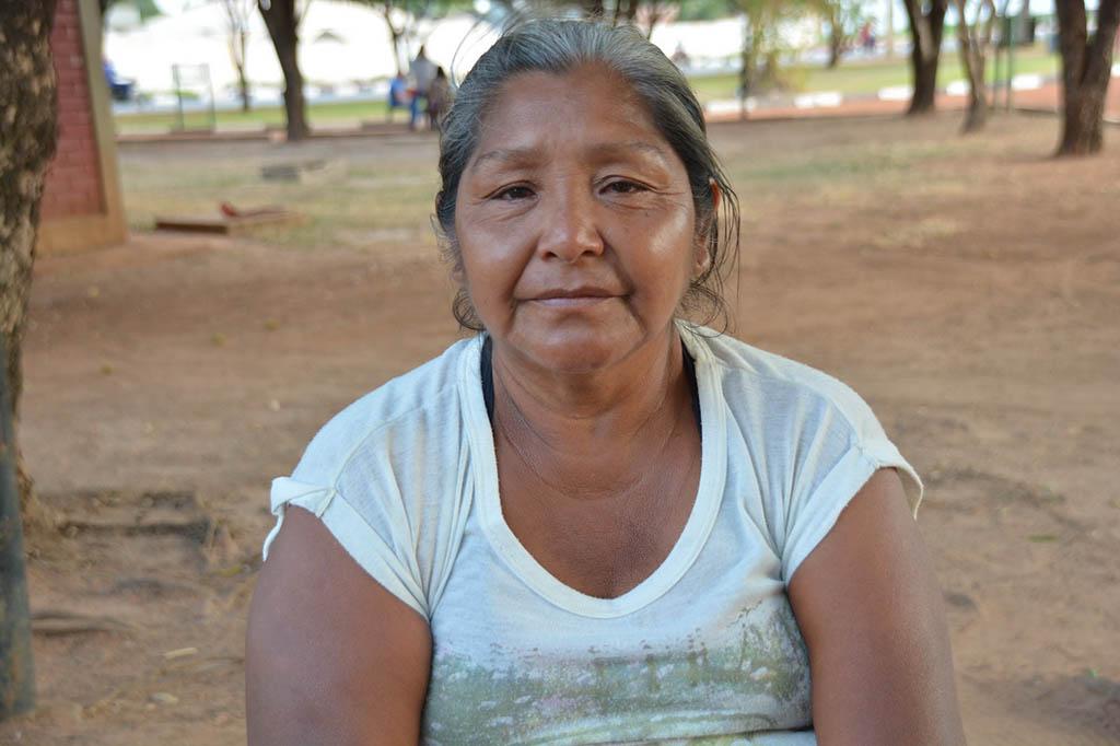 18 INMD3 05 Erminia Ratti veio de Tucupita para assistir o filho Jean Luiz internado em Boa Vista