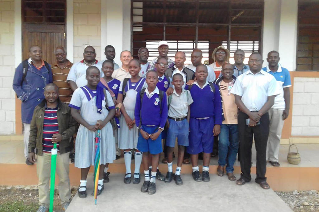 visit to Bl Allamano School