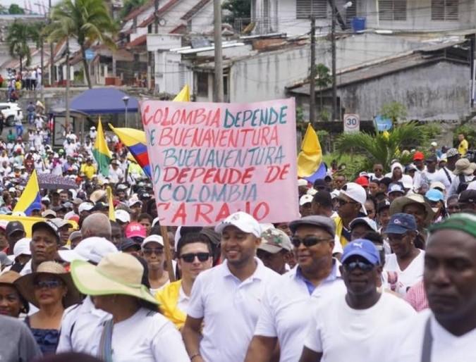 Colombia. Buenaventura... dimenticata come sempre