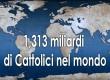 Le statistiche della Chiesa cattolica 2019