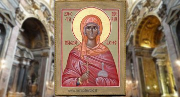 Invocazioni litaniche a Santa Maria Maddalena