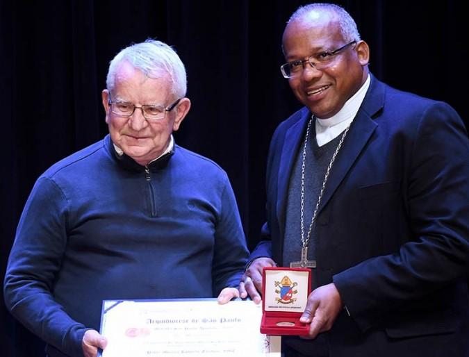 Missionário da Consolata ganha Medalha São Paulo Apóstolo 2019