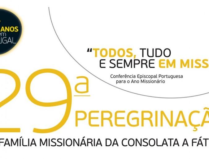 Fátima: pellegrinaggio missionario annuale della Regione Portogallo