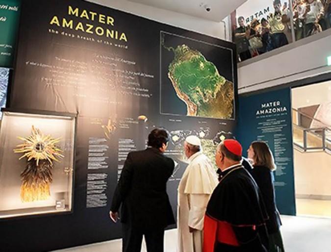 """Un anno con """"Mater Amazonia. The deep breath of the world"""""""