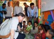 Cox's Bazar, il card. Tagle nei campi profughi Rohingya: una 'crisi internazionale'