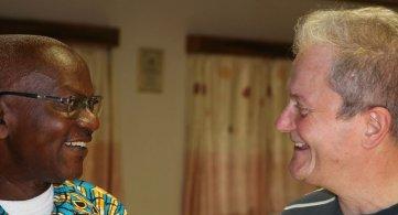 Visita ai nostri missionari in Costa d'Avorio. Tutto per il vangelo, 25 anni consacrati alla missione!